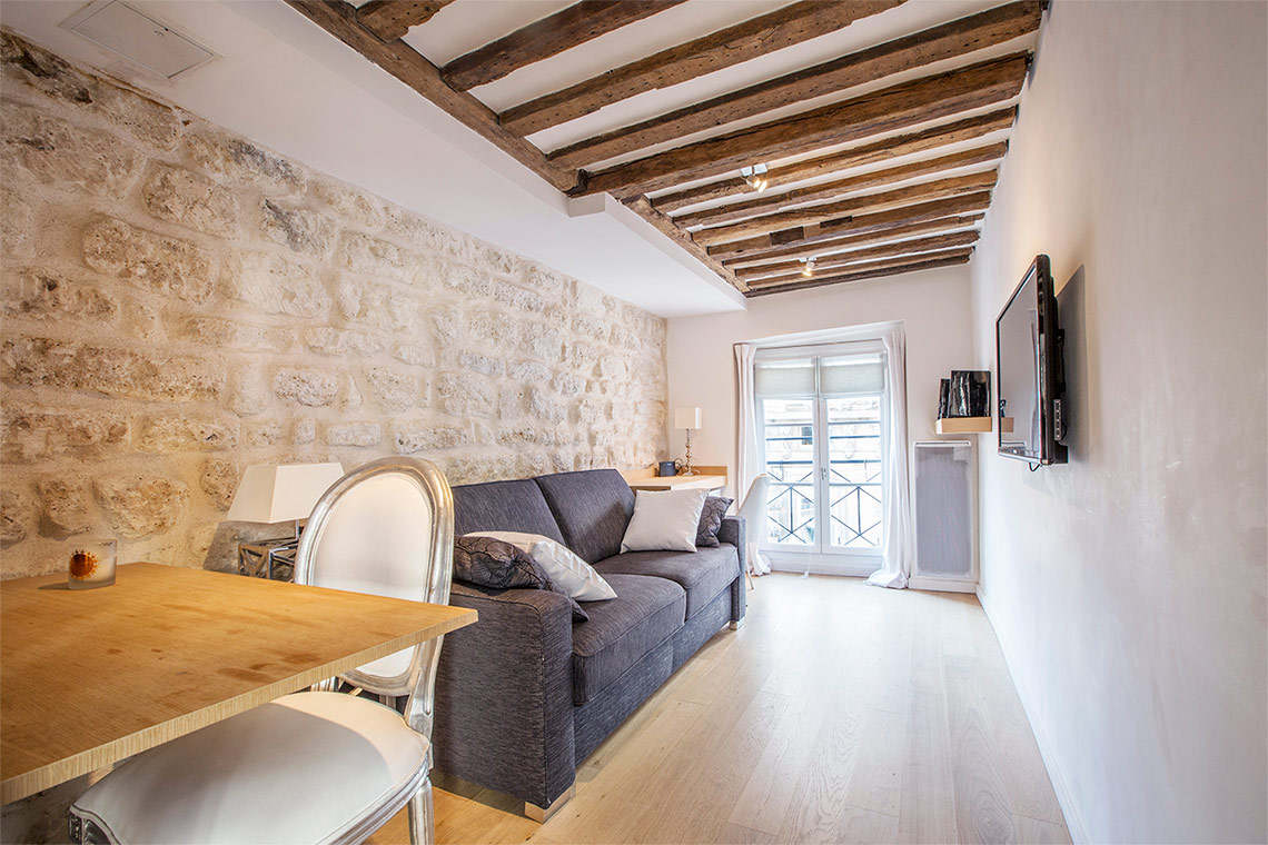 Apartment Paris Rue Sauval 4