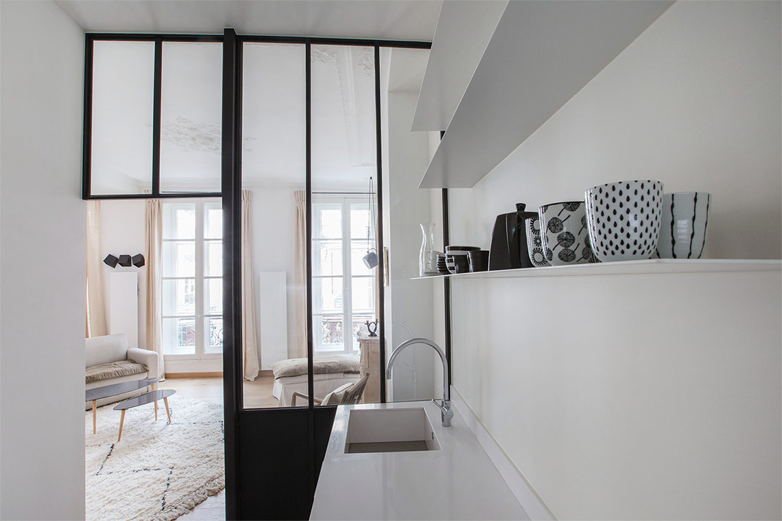 Appartement Paris Rue Saint André des Arts 8