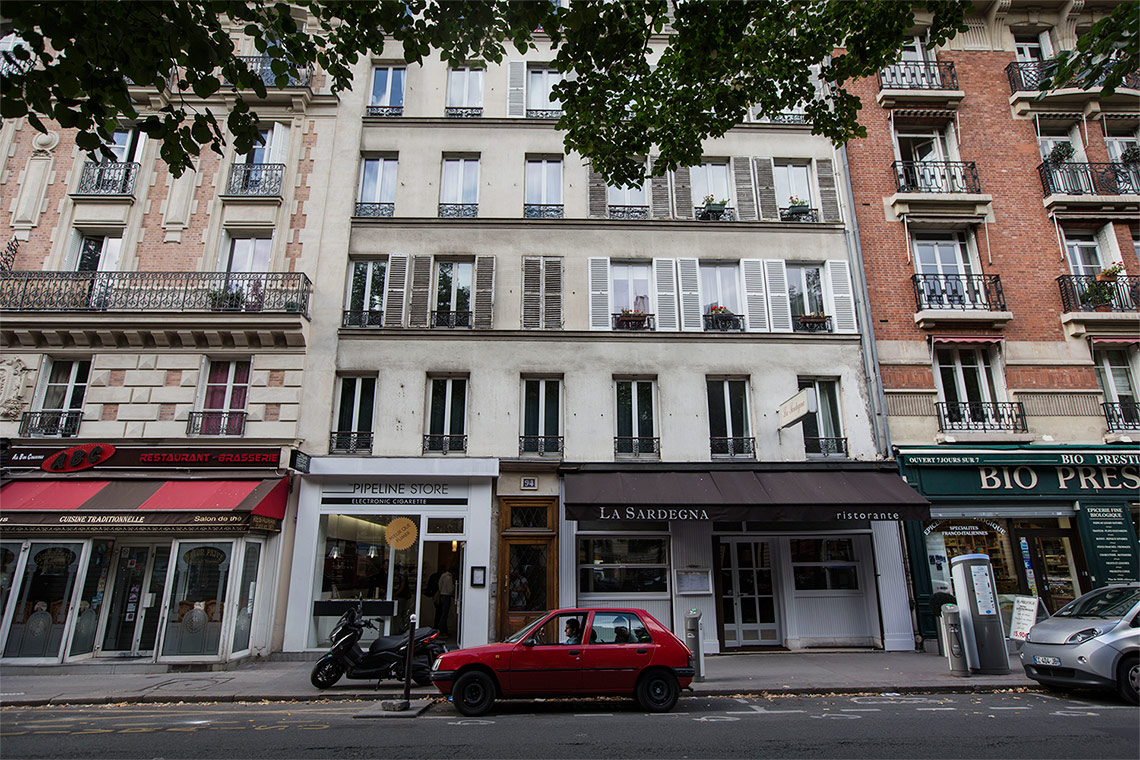 Apartment Paris Boulevard des Batignolles 12