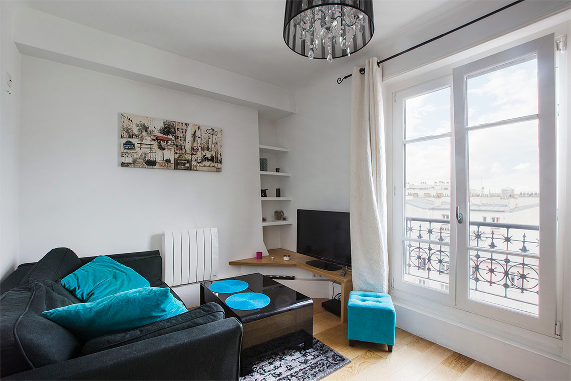 Apartment Paris Boulevard des Batignolles 2