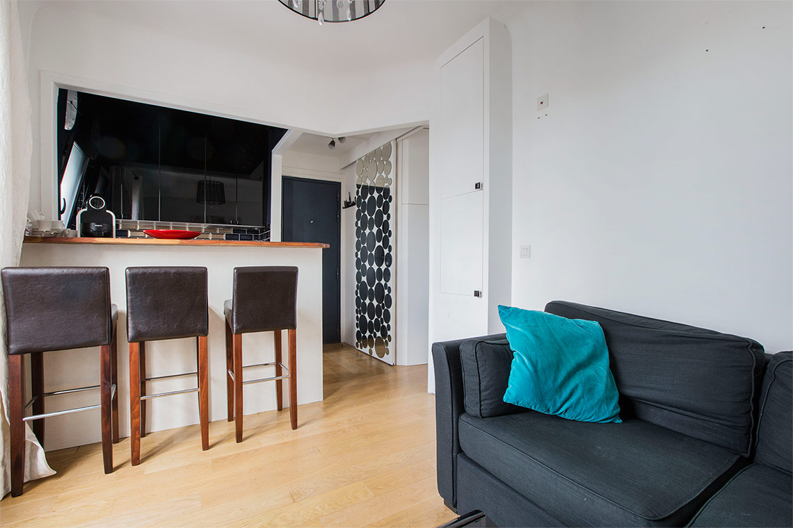 Apartment Paris Boulevard des Batignolles 3