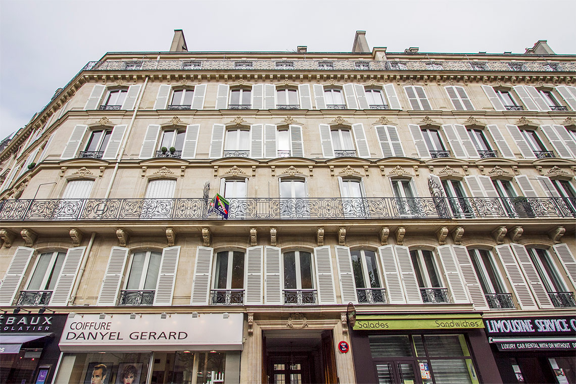 Appartement Paris Rue Arsene Houssaye 13
