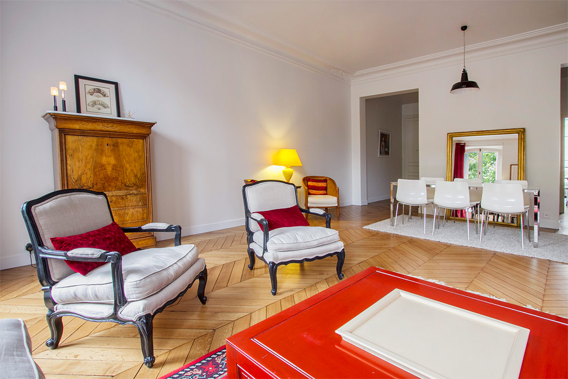 Appartement Paris Rue Arsene Houssaye 3