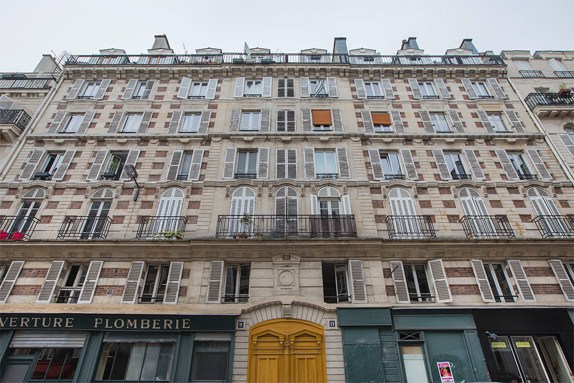 Apartment Paris Rue de Vintimille 14