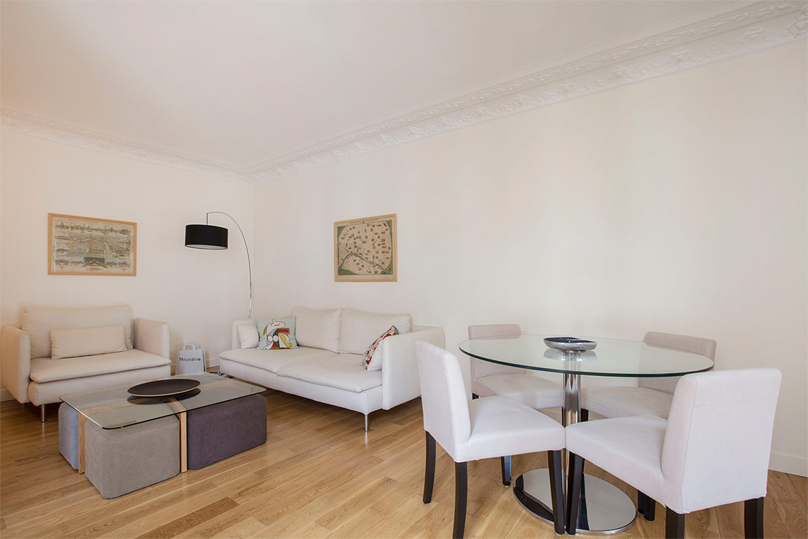 Furnished apartment for rent Paris Rue de Vintimille