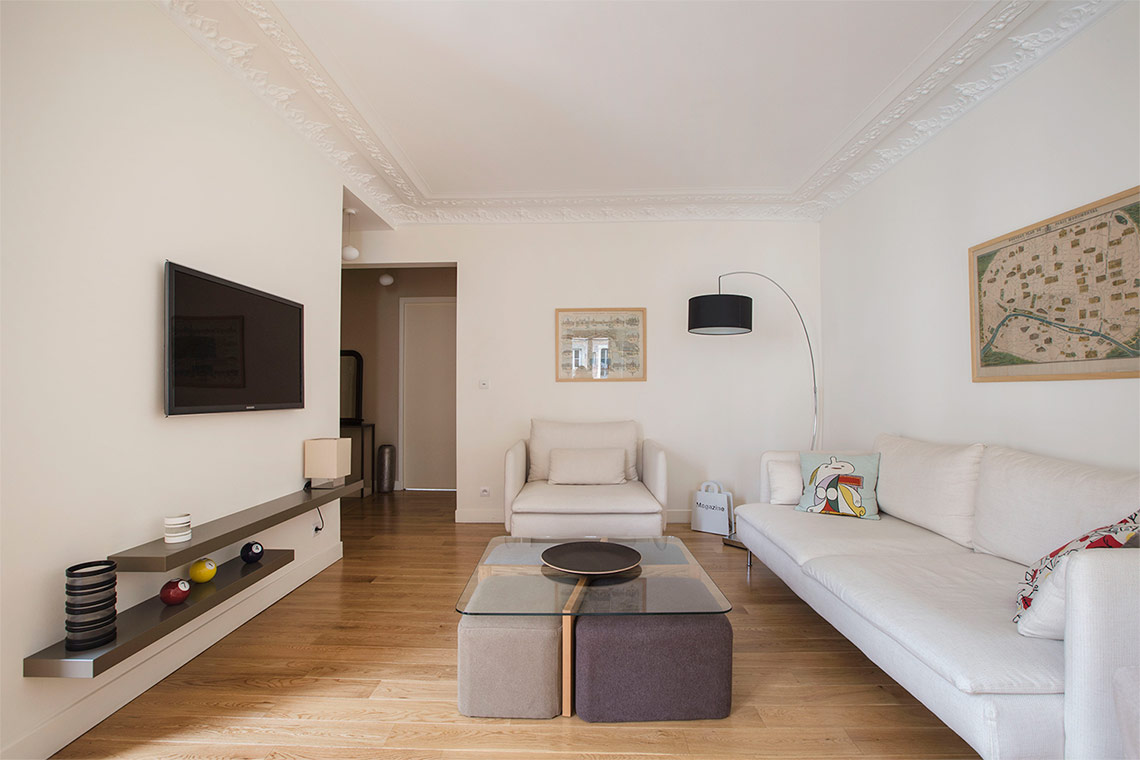 Paris Rue de Vintimille Apartment for rent