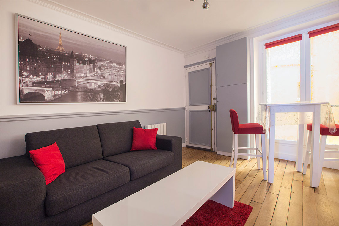 Furnished apartment for rent Paris Rue Beauregard