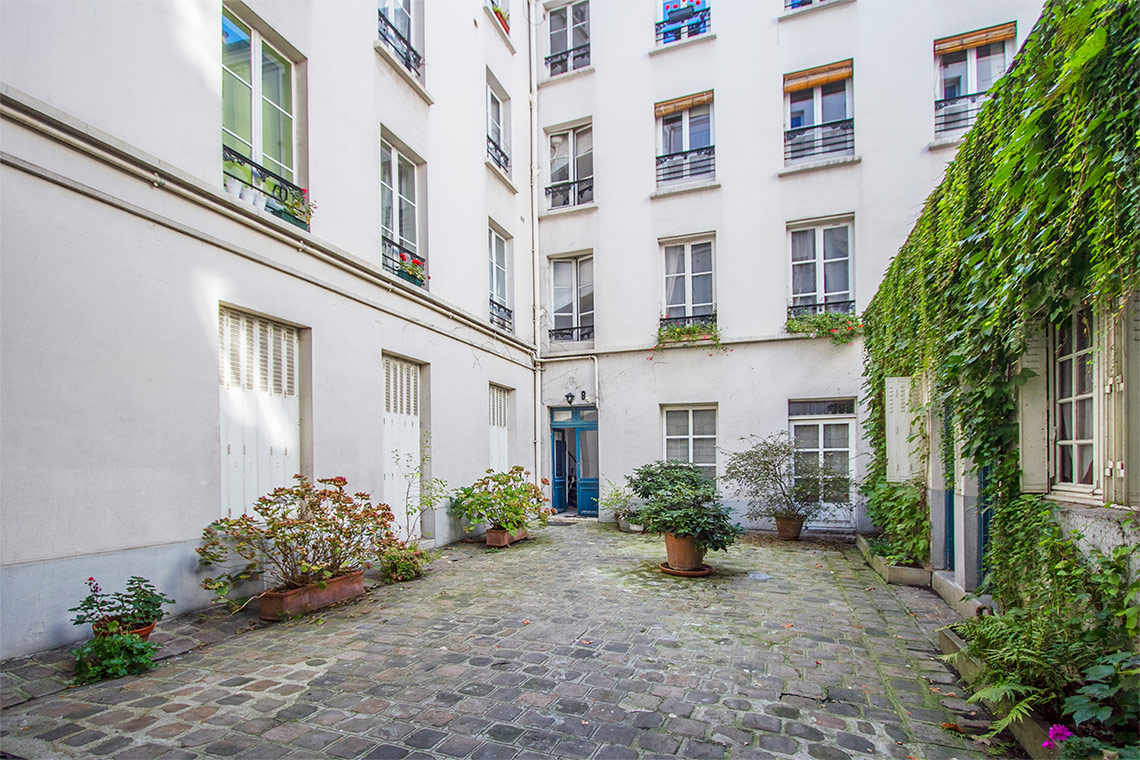 Appartement Paris Rue du Cardinal Lemoine 3