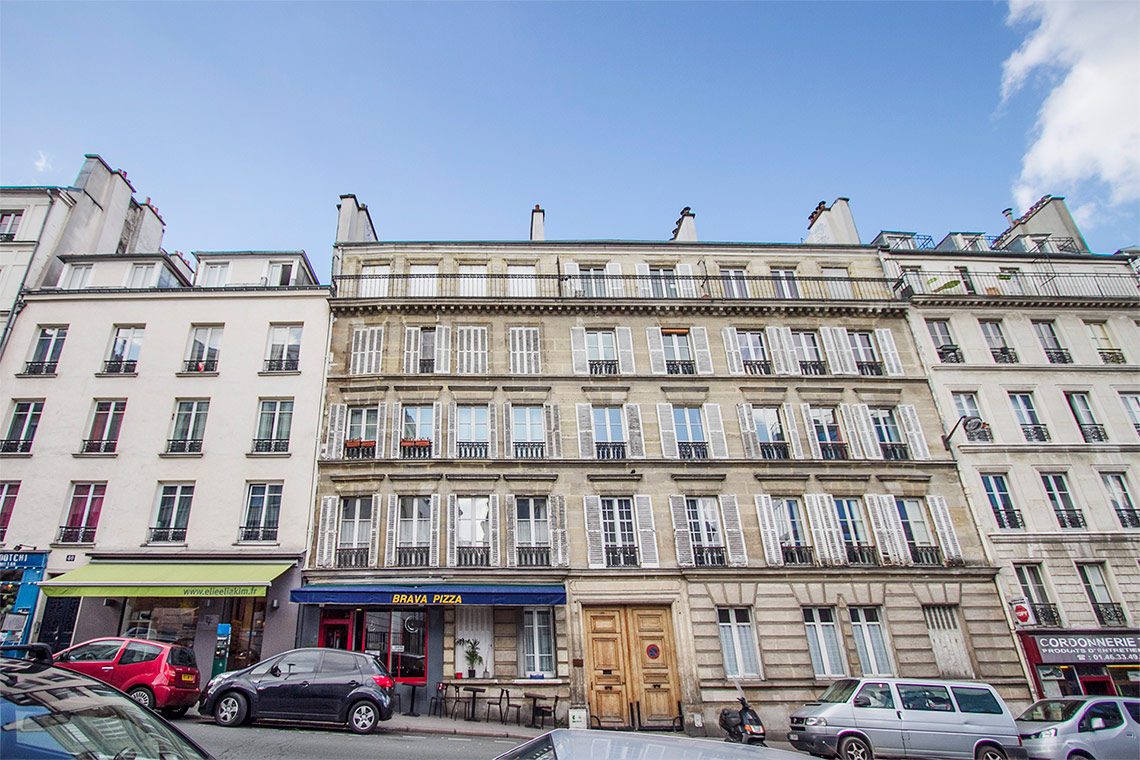 Appartement Paris Rue du Cardinal Lemoine 6