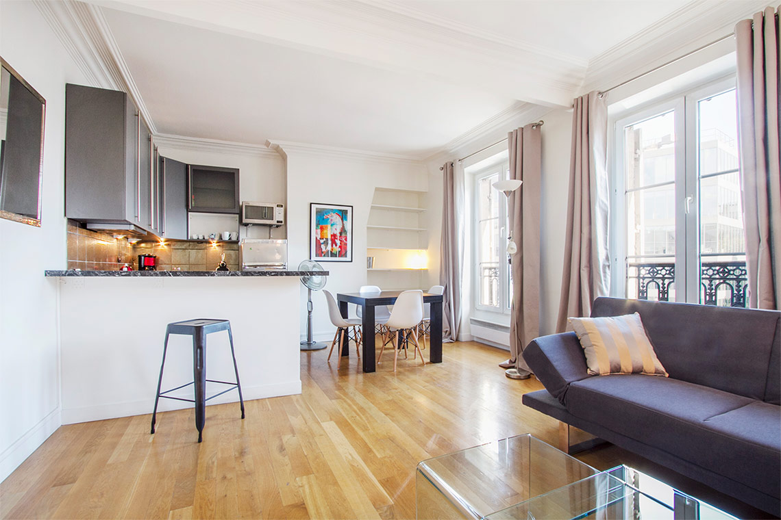 Appartement Paris Rue du Cardinal Lemoine 8