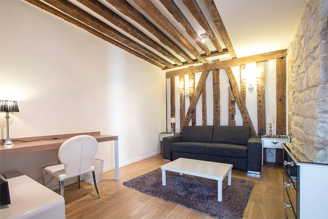 Furnished apartment for rent Paris Rue Sauval