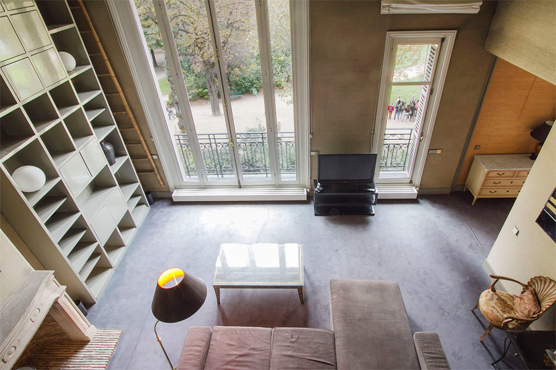 Furnished apartment for rent Paris Avenue de la Bourdonnais