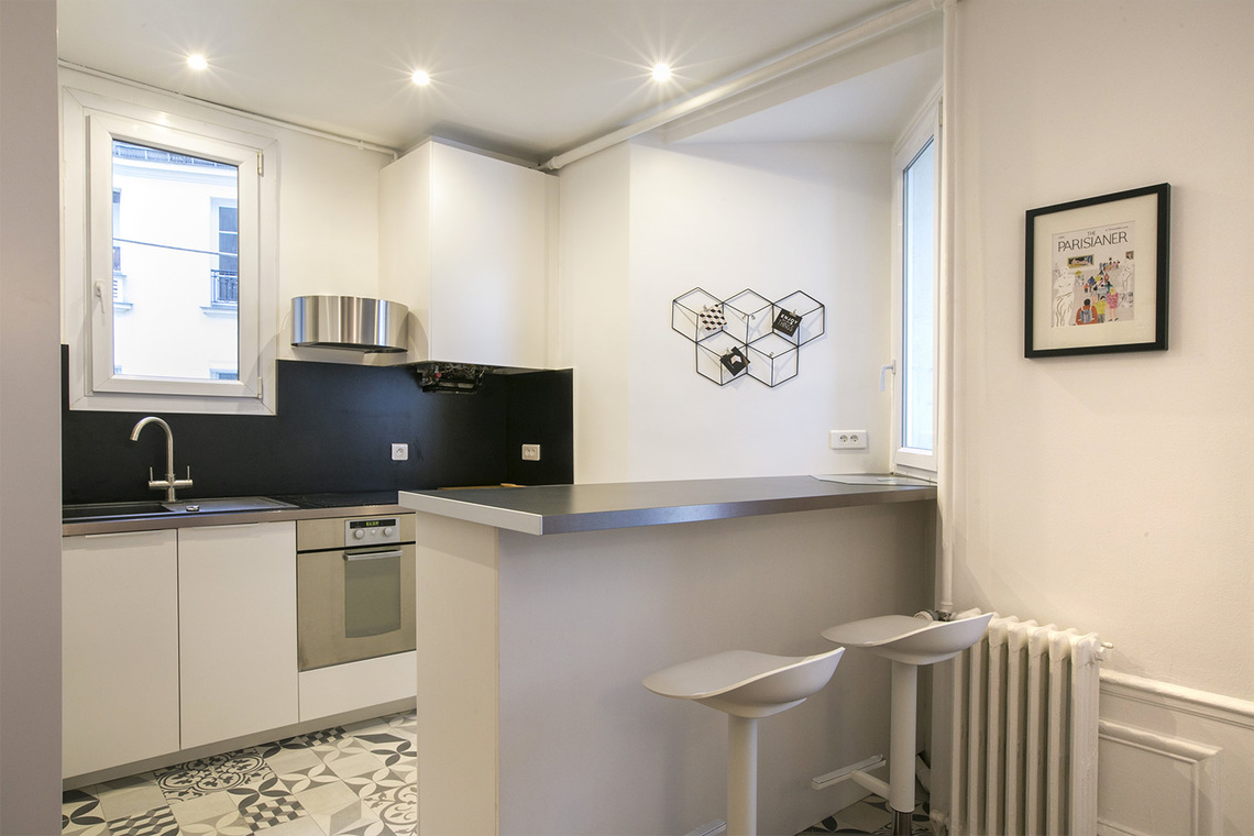 Appartement Paris Rue Desaix 7