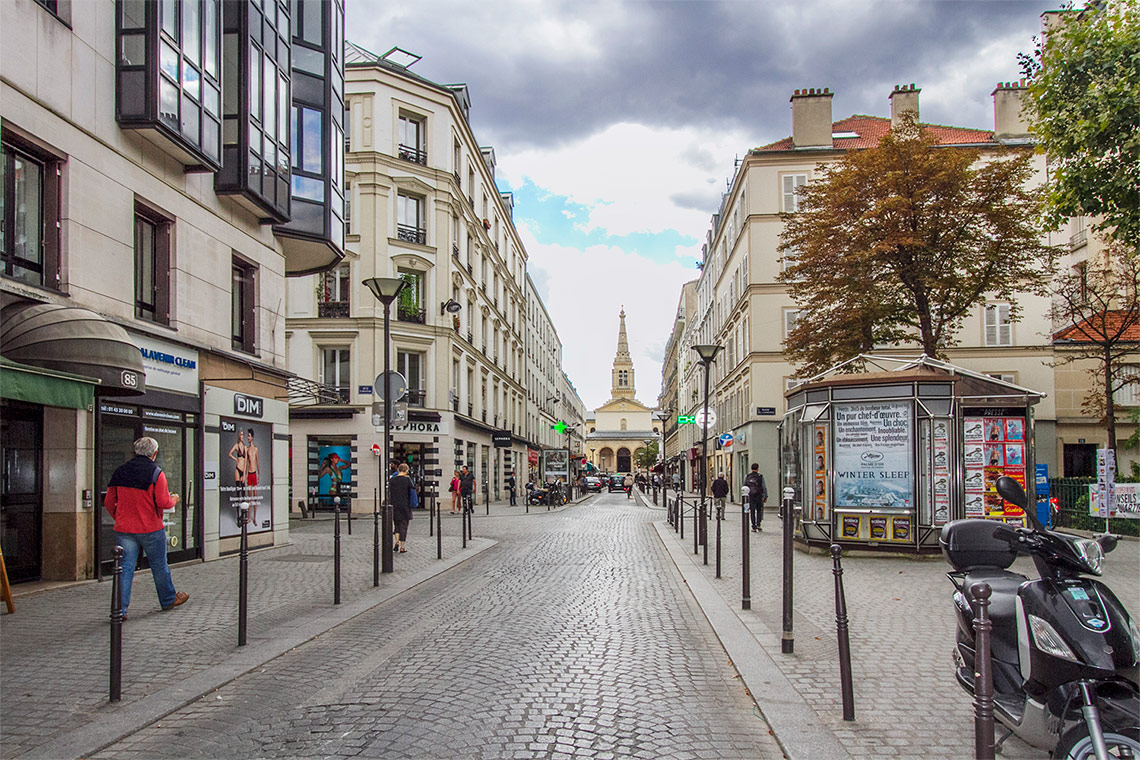 Квартира Paris Rue de l'Abbé Groult 6