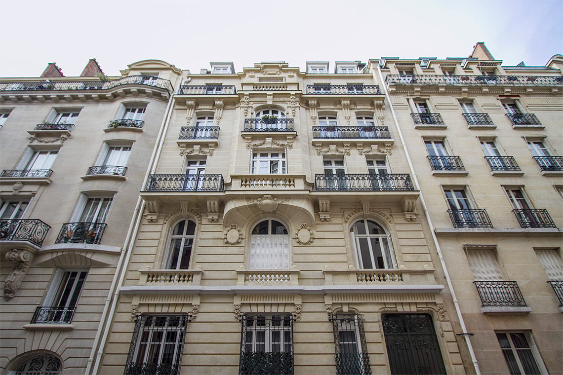 Appartement Paris Rue Desbordes-Valmore 14