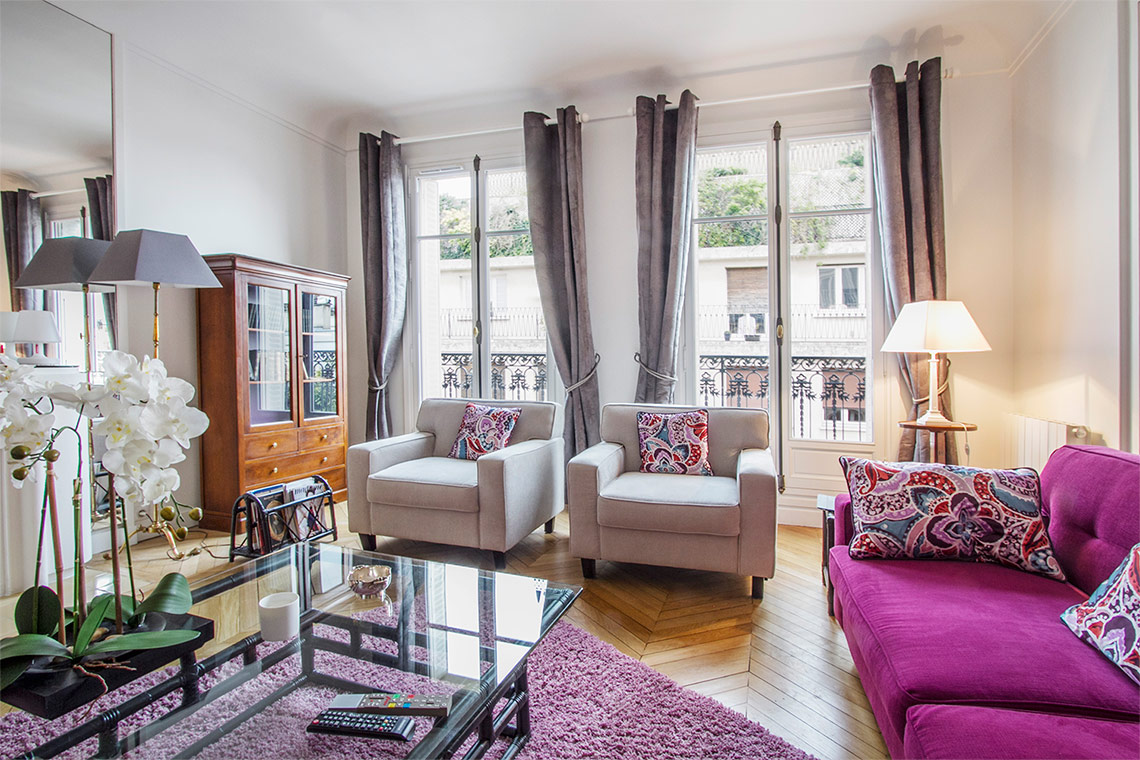 Appartement Paris Rue Desbordes-Valmore 3