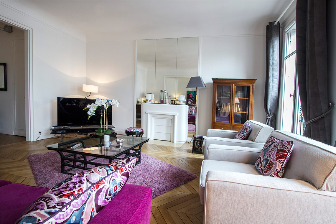 Appartement Paris Rue Desbordes-Valmore 4