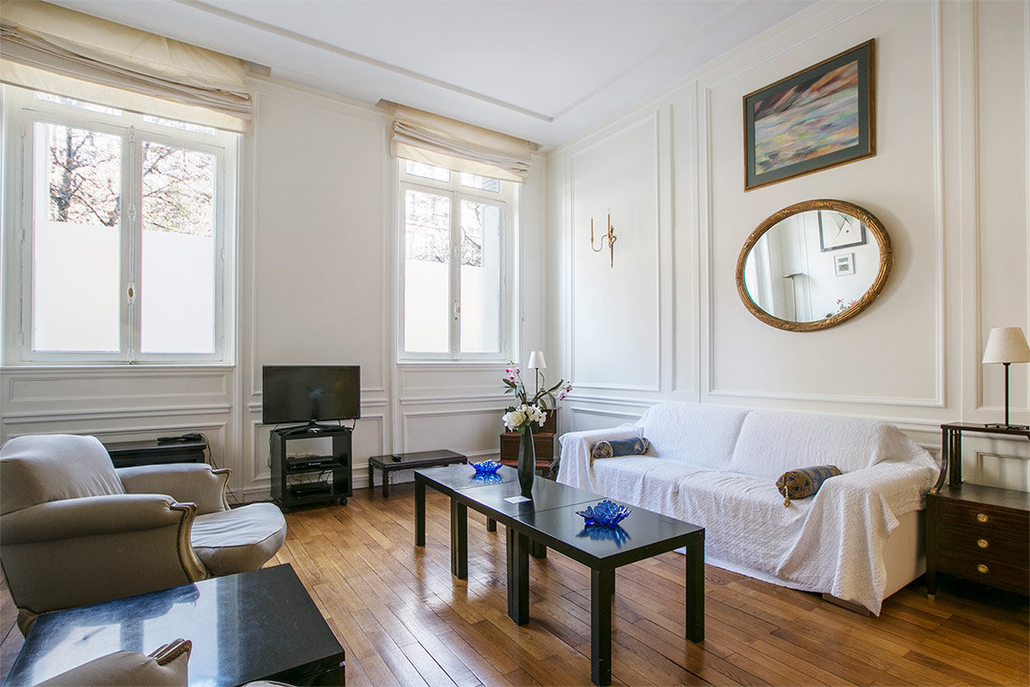 Apartment Paris Avenue George V 4