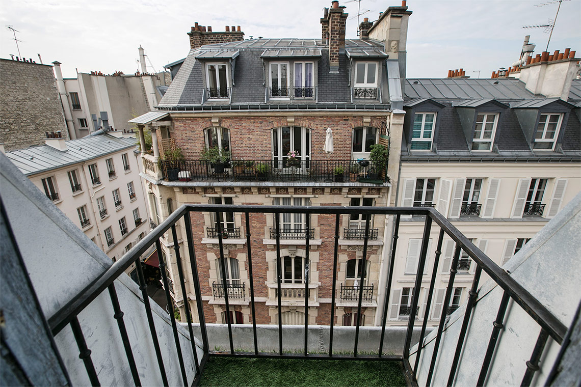 Appartement Paris Rue de Lévis 9
