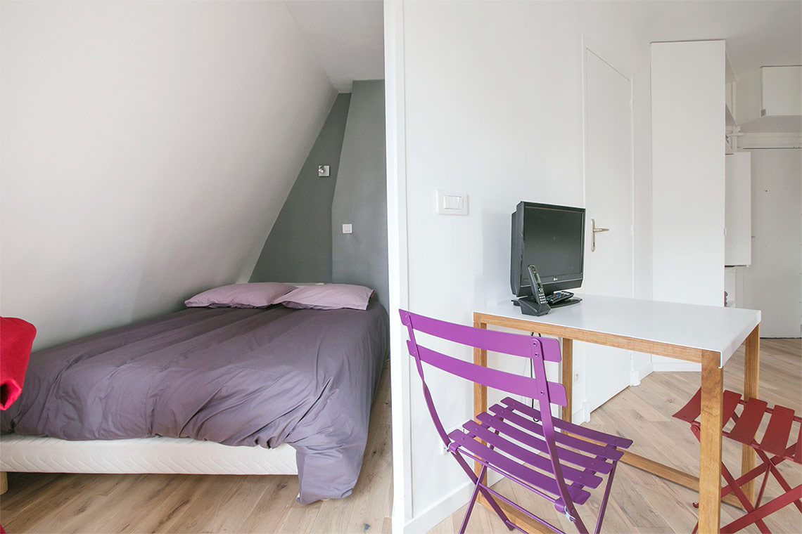 Appartement Paris Rue de Lévis 4