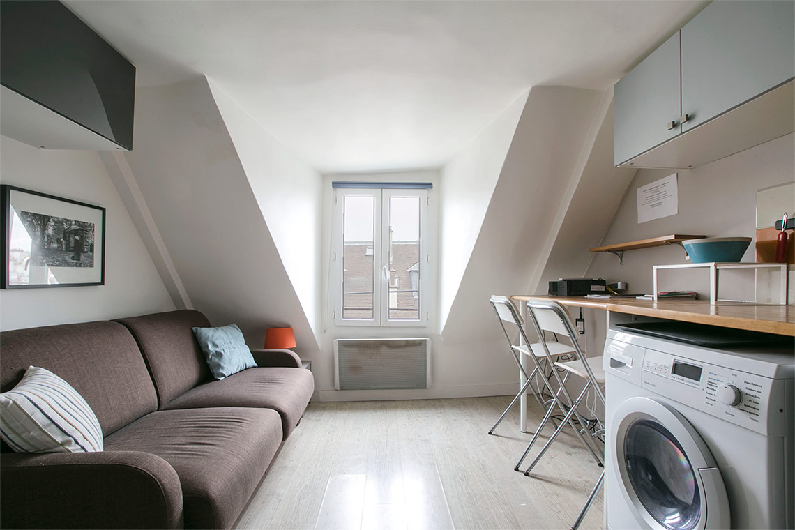 Furnished apartment for rent Paris Rue Ferdinand Duval