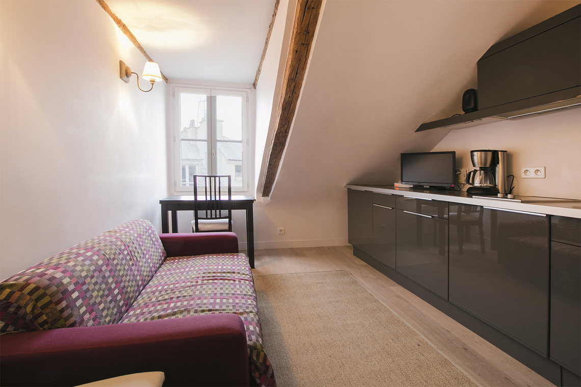 Furnished apartment for rent Paris Rue Dauphine