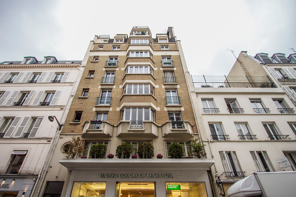 Appartement Paris Rue de Passy 14