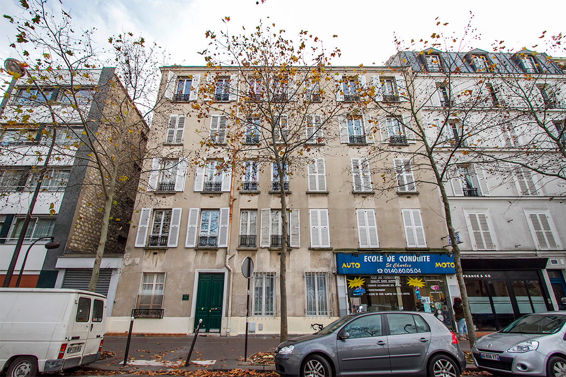 Квартира Paris Rue Saint Charles 14