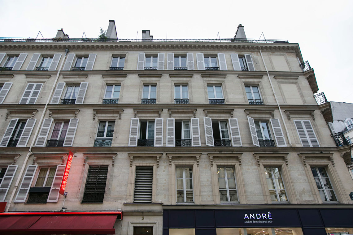 Appartement Paris Rue de l'Isly 13