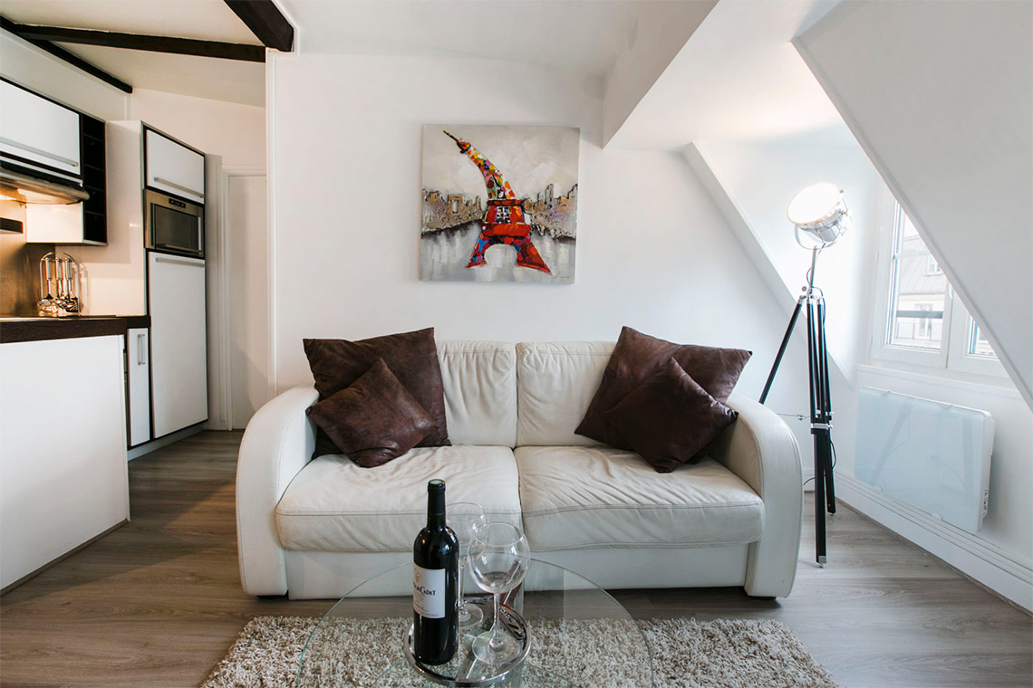 Furnished apartment for rent Paris Rue de l'Isly