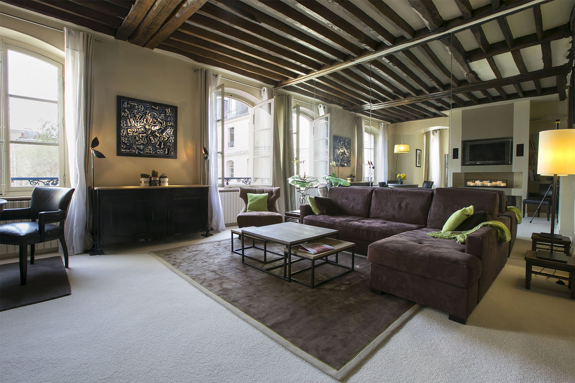 Furnished apartment for rent Paris Rue Vieille du Temple