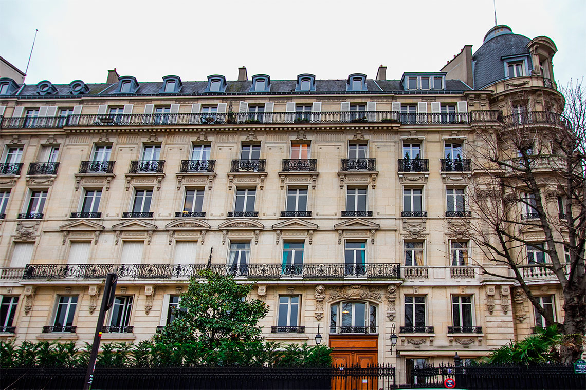 Appartement Paris Avenue Foch 6