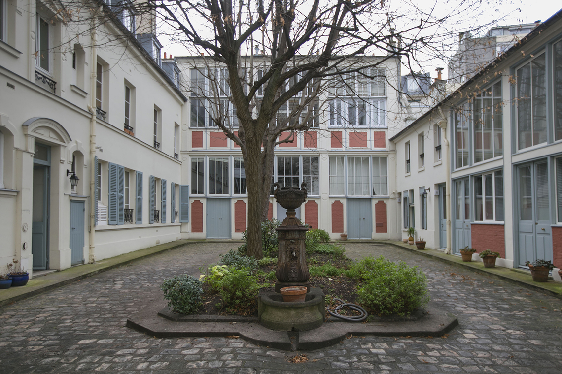 Apartment Paris Rue Henri Barbusse 12