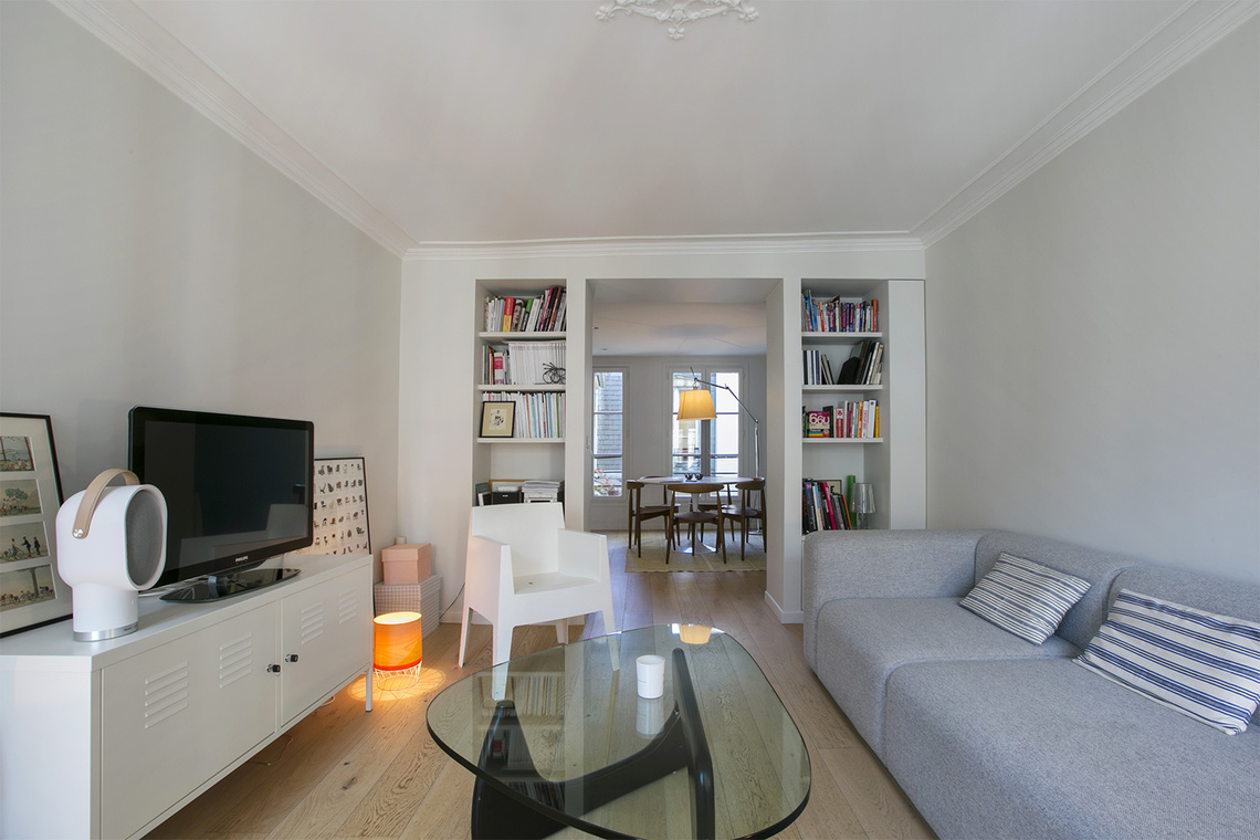 Furnished apartment for rent Paris Rue de Navarin