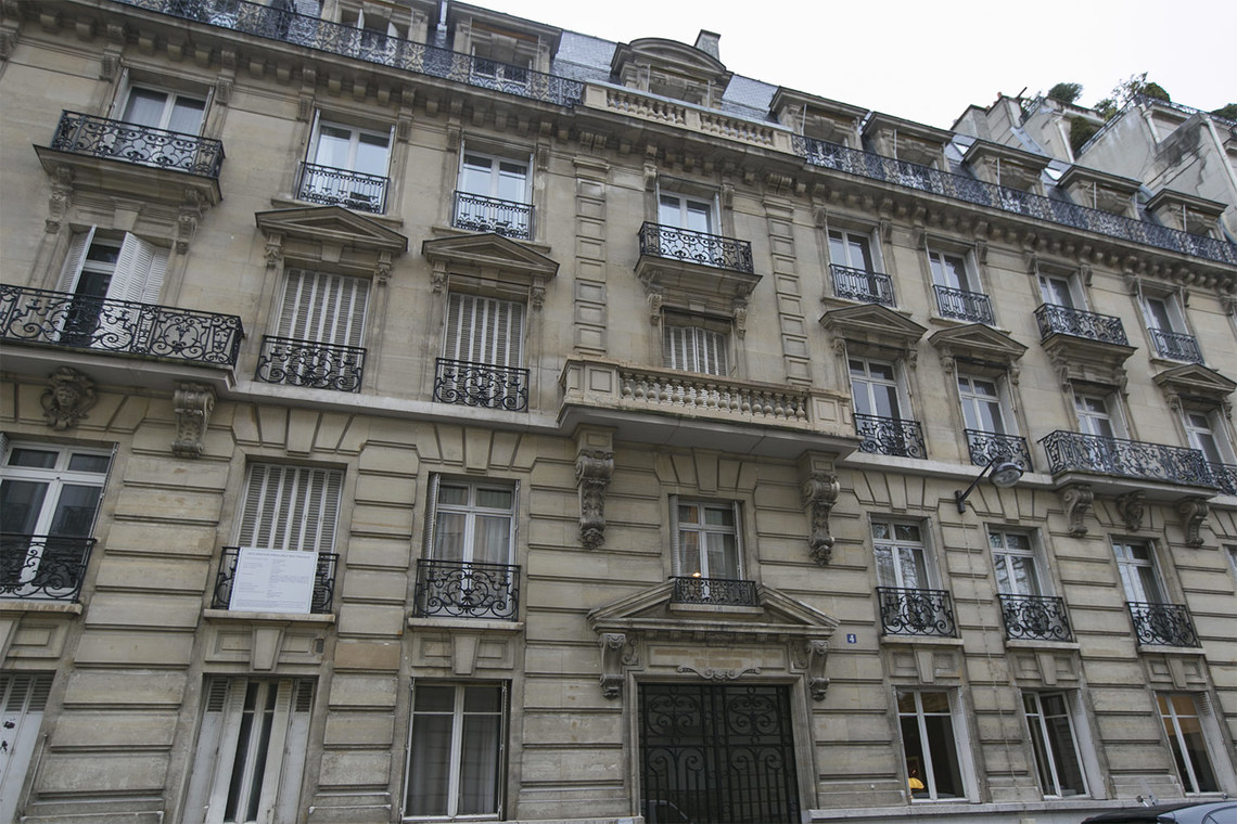 Appartement Paris Rue Chalgrin 12