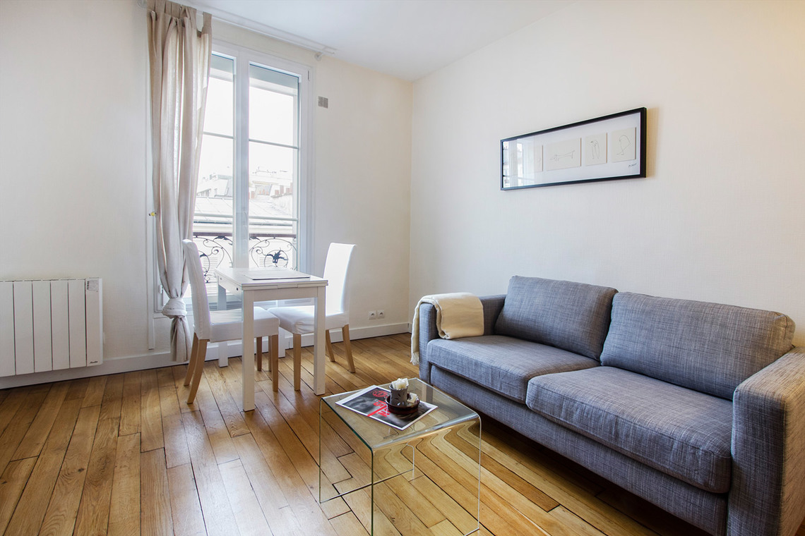 Furnished apartment for rent Paris Rue Popincourt