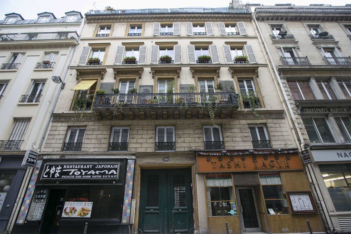 Квартира Paris Rue Richer 9