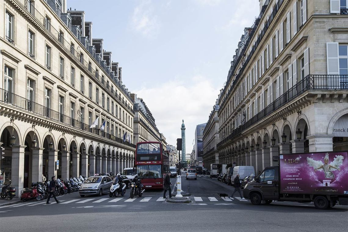 Квартира Paris Rue Saint Honoré 21