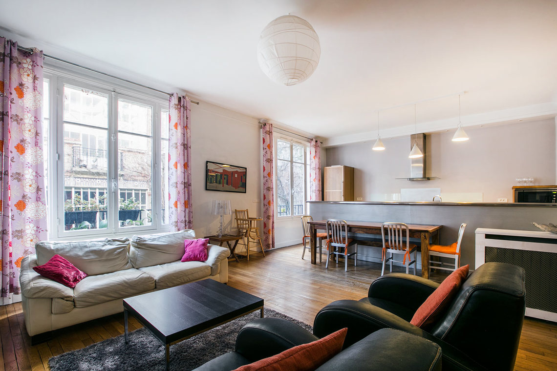 Furnished apartment for rent Paris Boulevard Garibaldi