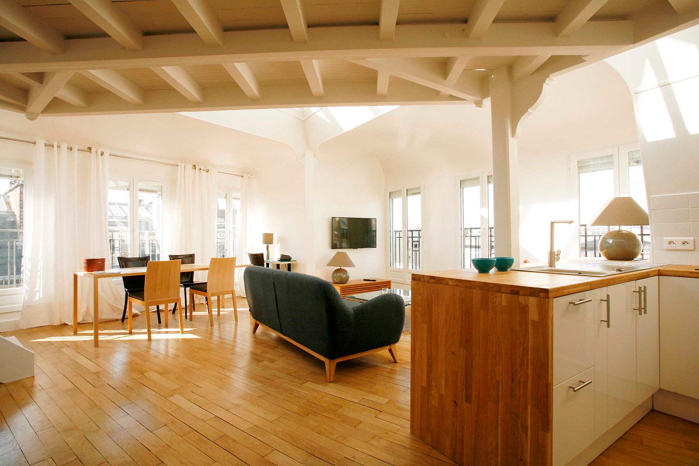 Apartment Paris rue Paul Séjourné