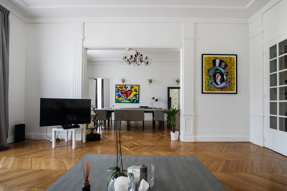 Appartamento Paris Avenue Georges Mandel 4
