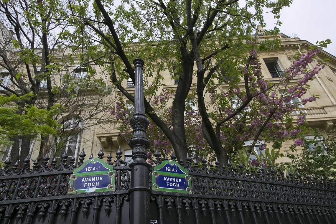 Studio For Rent Avenue Foch Paris Ref 12217