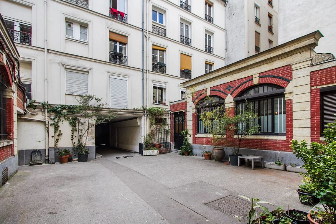 Appartement Paris Rue Popincourt 12