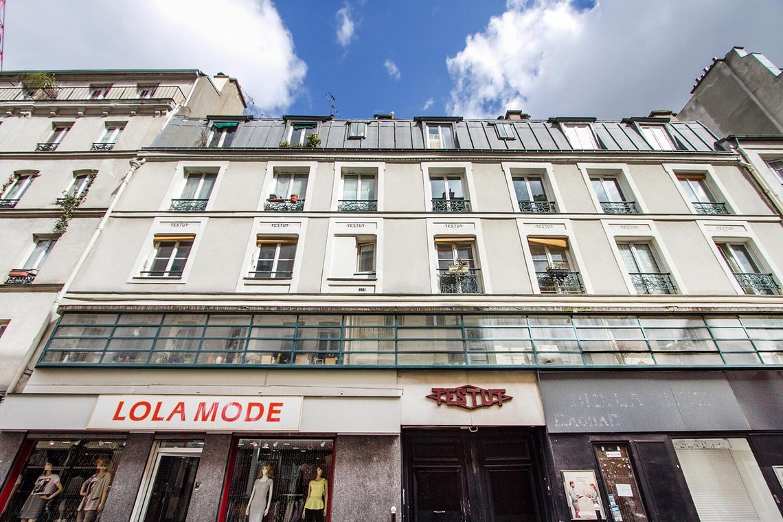 Appartement Paris Rue Popincourt 13