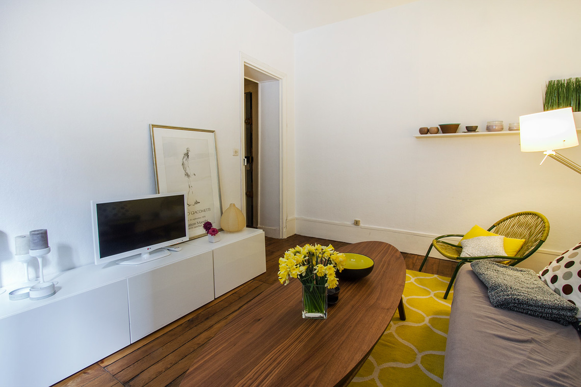 Appartement Paris Rue Popincourt 4