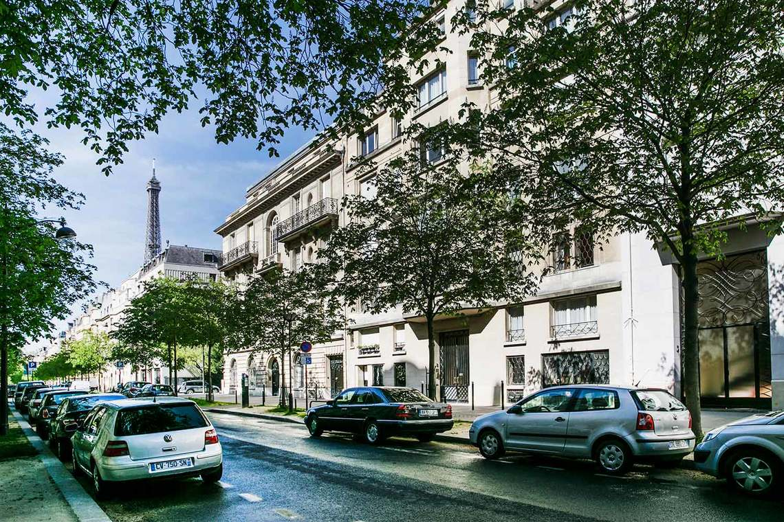 Appartamento Paris Avenue Emile Acollas 20