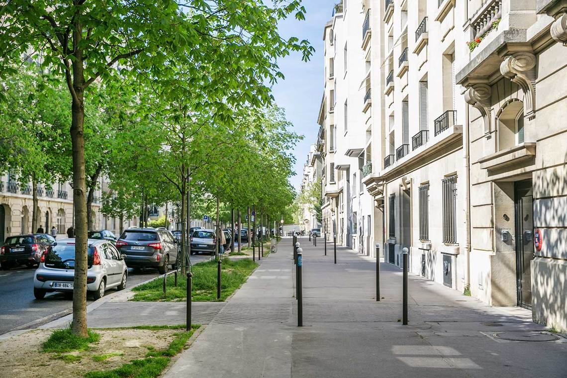 Appartamento Paris Avenue Emile Acollas 21