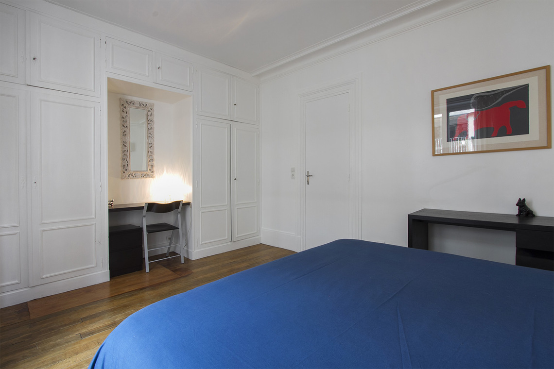 Appartement Paris Rue Duvivier 9