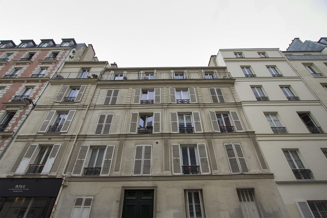 Appartement Paris Rue Duvivier 14