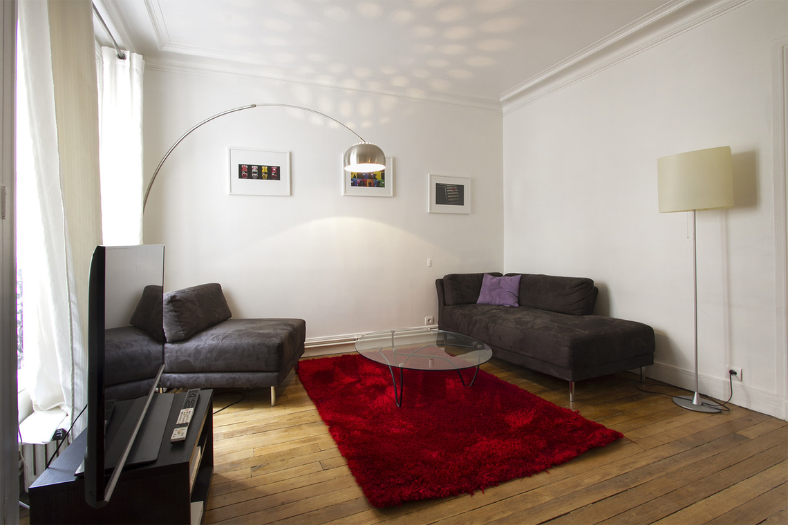 Appartement Paris Rue Duvivier 2